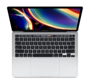 MacBook Pro 13-inch MXK72 Silver (2020)