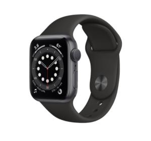 Apple-Watch-Series-6 black nike band
